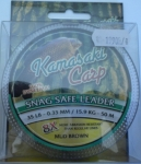 Kamasaki Snag Safe Leader 50m 35lb